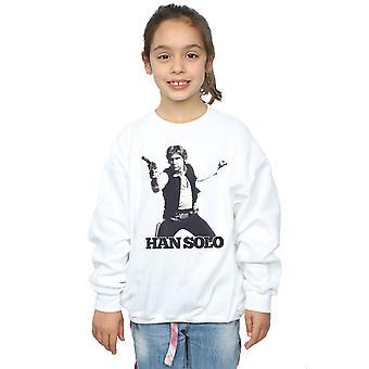 Star Wars meisjes Han Solo Retro foto Sweatshirt