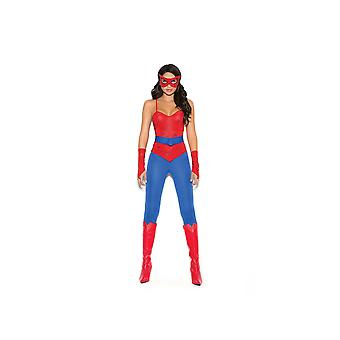Elegant oments IS-E-9140 Spider Super Hero 5 pc costume edium