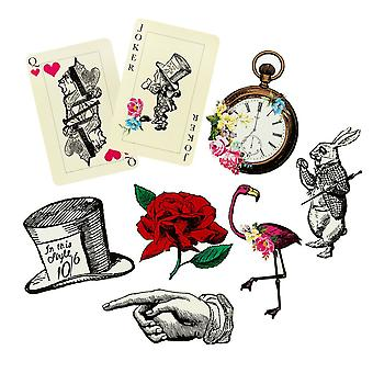 Alice in Wonderland Large Card Party Props Watch / Card - Wedding Party Decoration