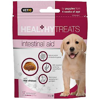 Mark & Chappell Snacks Intestinal Aid Treats For Puppies 50Gr (Dogs , Treats , Biscuits)