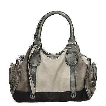 Ladies Rieker Shoulder Bag H1013-42 - Grey Combi Synthetic - One Size