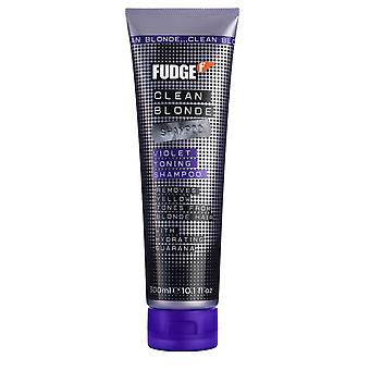 Fudge Fudge Clean Blonde Violet Toning Shampoo