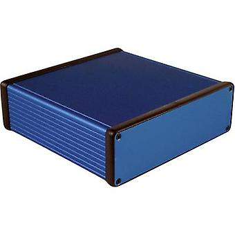 Hammond Electronics 1455T1601BU Universal enclosure 160 x 165 x 51.5 Aluminium Blue 1 pc(s)