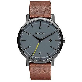 Nixon The Rollo Watch - Black/Charcoal