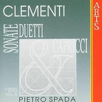 M. Clementi - Muzio Clementi: Sonate, Duetti & Capricci, Vol. 10 [CD] USA import