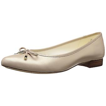 Anne Klein Womens Ovi Almond Toe Slide Flats