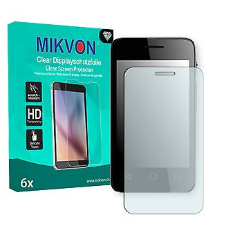 Alcatel OneTouch Pixi 3 3,5 Zoll Screen Protector - Mikvon Clear (Retail Package with accessories)