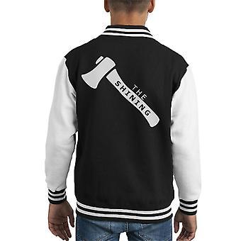 The Shining MinimalKid's Varsity Jacket