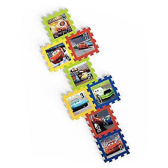 Disney Cars Puzzle Game 8 Carpet Tiles