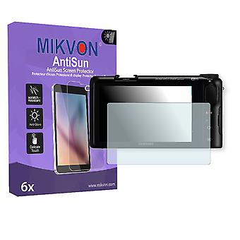Samsung NX2000 Screen Protector - Mikvon AntiSun (Retail Package with accessories)