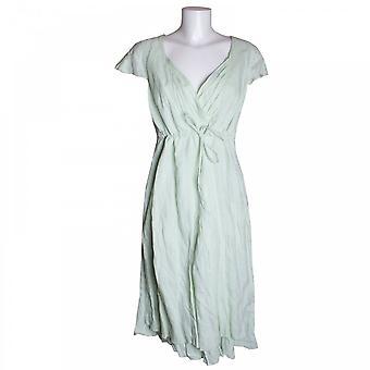 Tuzzi bomull kjole med snor midje