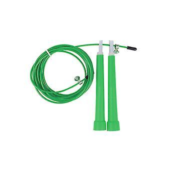 Velocidad de la cuerda de saltar cuerda verde