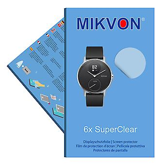 Nokia Steel HR 40mm screen protector- Mikvon films SuperClear