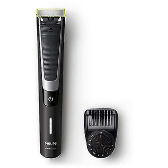 Philips OneBlade Pro QP6510/25 Hybrid Trimmer and Shaver (12- Length settings)