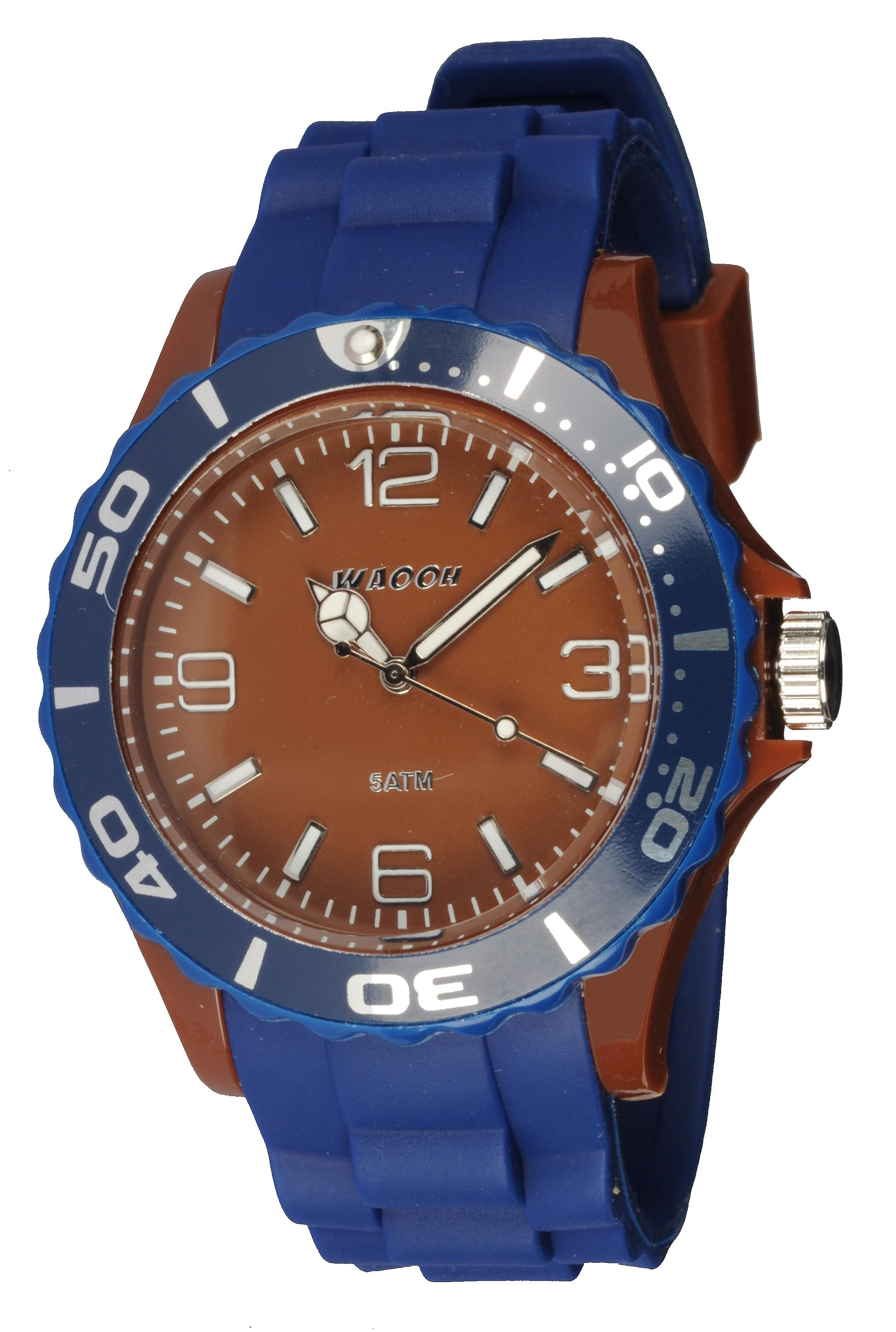 Waooh - MC42 Watch Two Tone Brown &