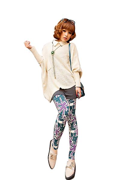 Waooh - Fashion - leggings modello britannico