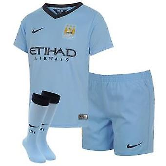 2014-2015 Man City Home Nike Baby-Kit
