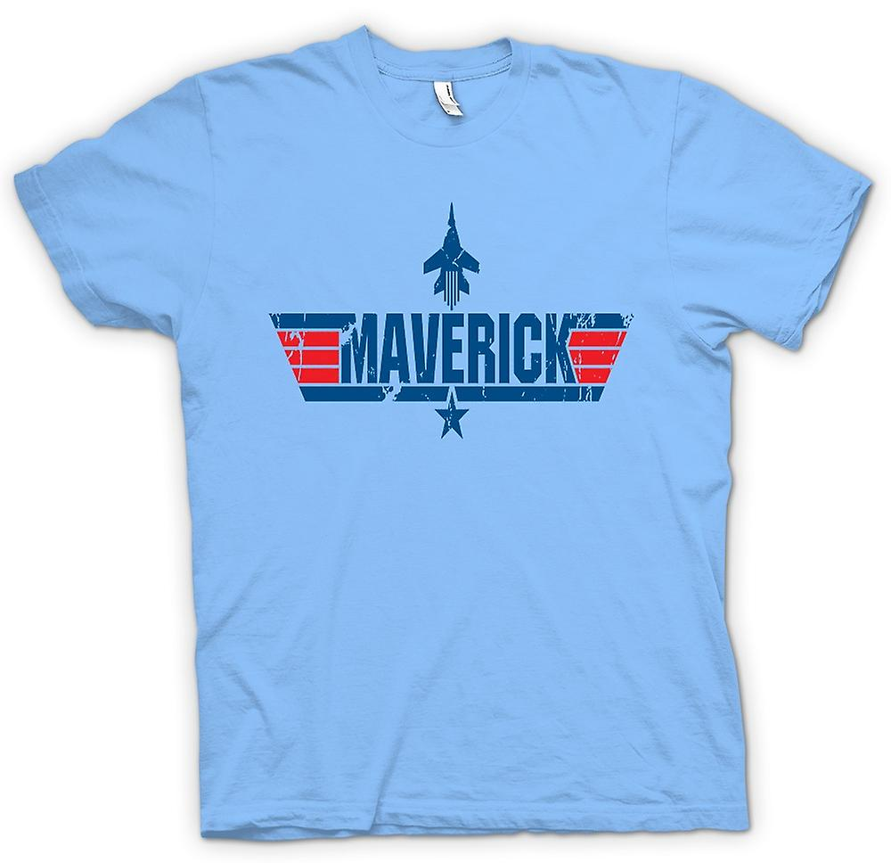 Mens t-skjorte - Top Gun Maverick USAF - film