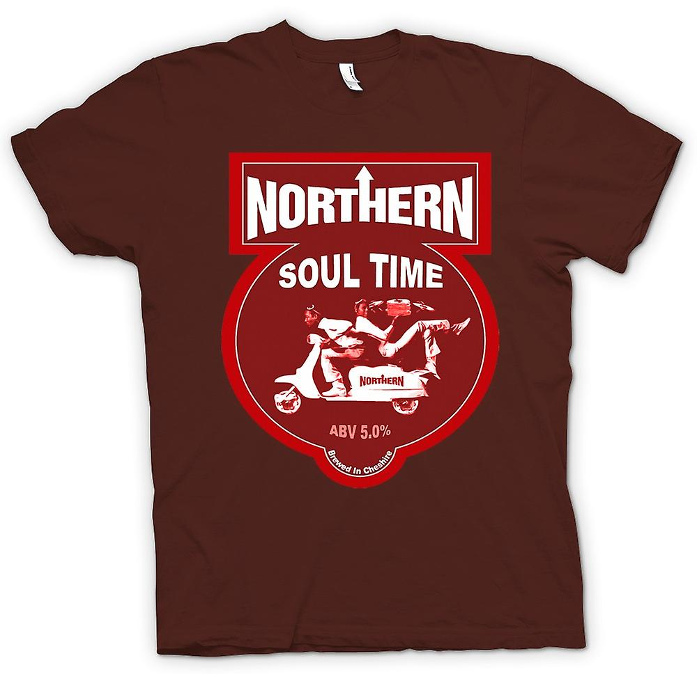 Mens t-skjorte-Northern Soul Scooter Vespa