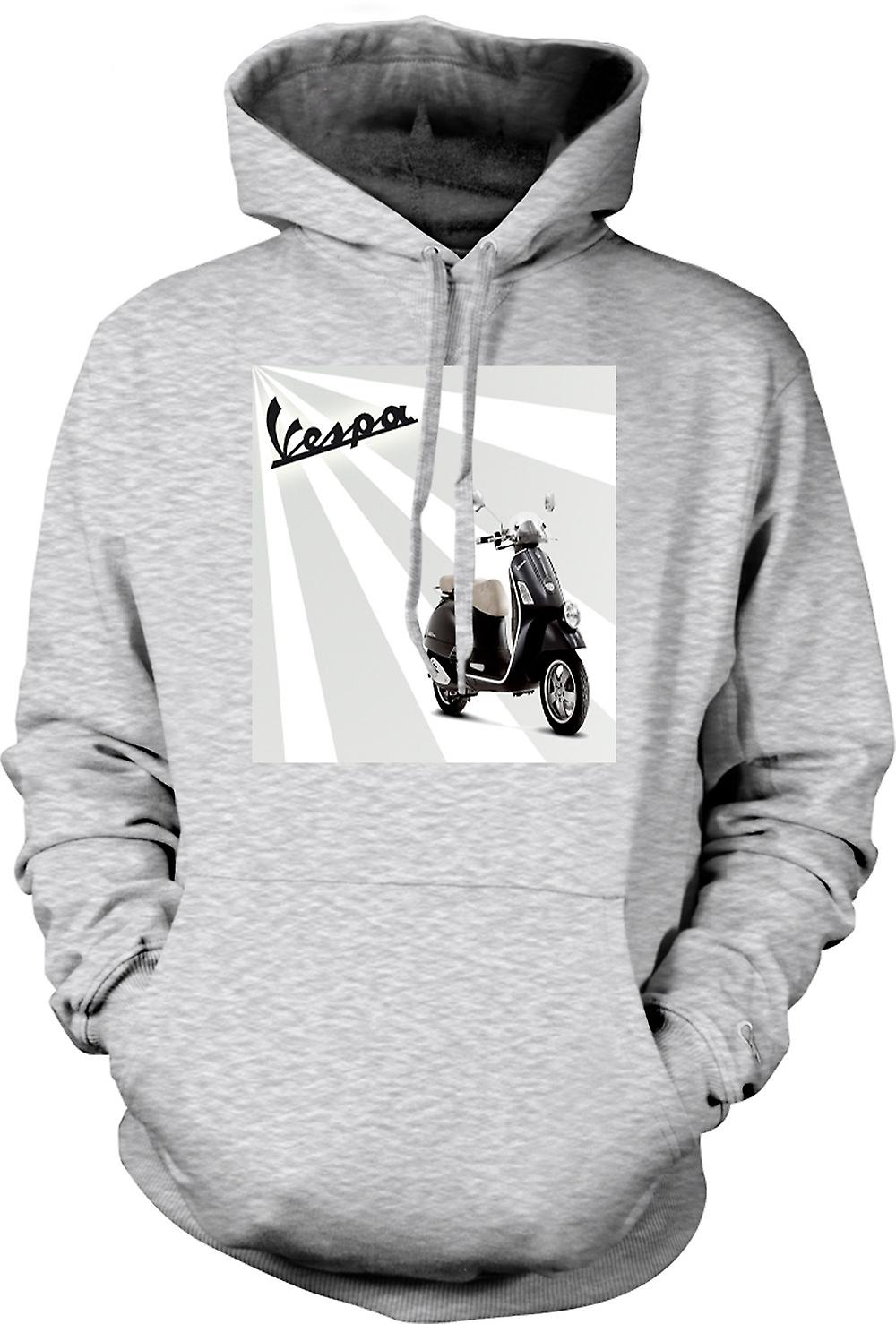 Mens-Hoodie - Vespa - coole Scooter