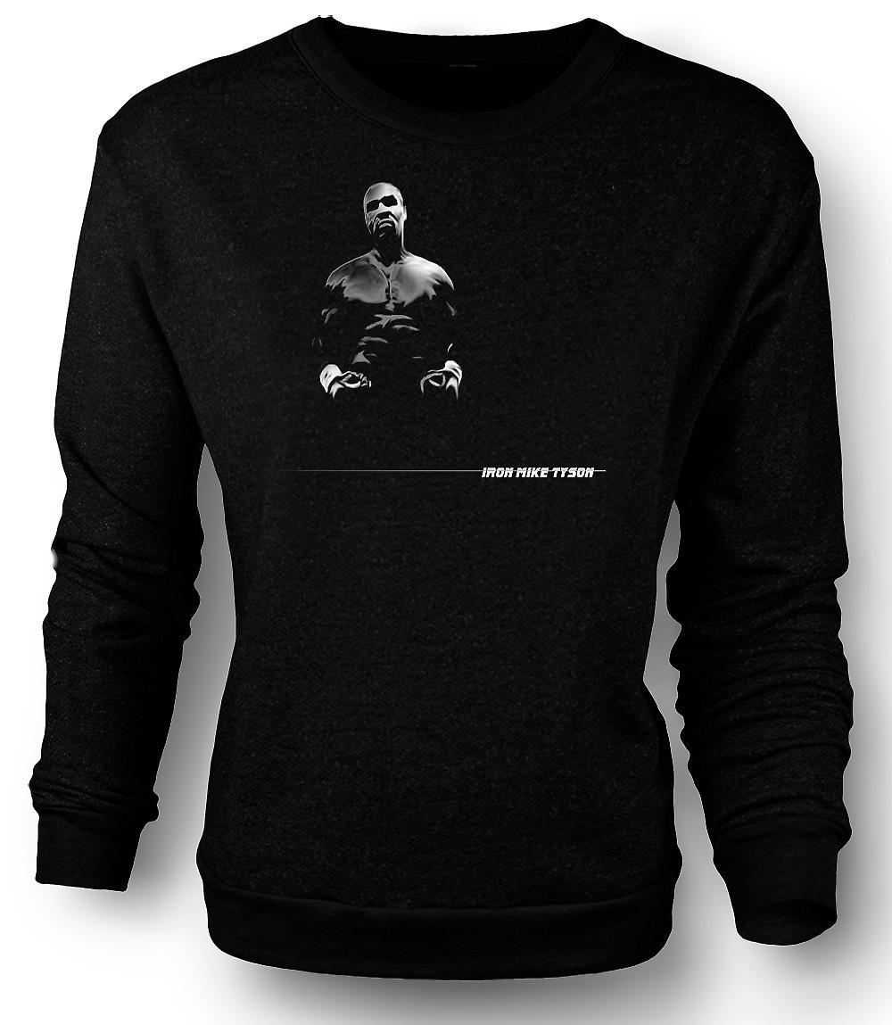 Mens Sweatshirt jern - Mike Tyson - Pop Art