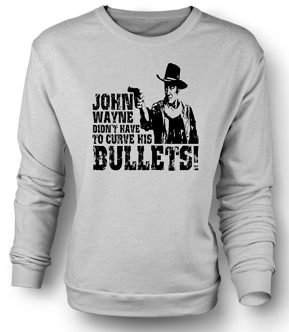 Mens felpa John Wayne curvo - Cowboy