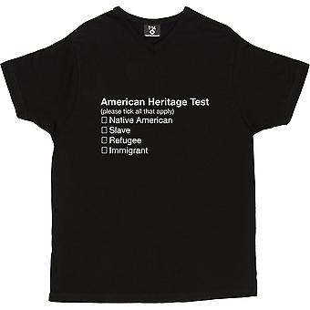 American Heritage Test Men's T-Shirt