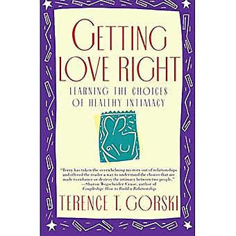 Getting Love Right (Fireside Parkside Books)