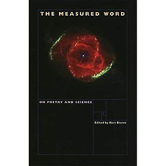 Le mot mesuré: Poésie et Science