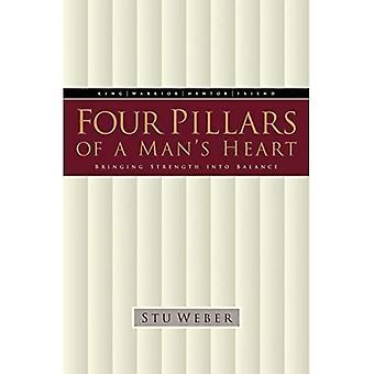 Fyra pelare av en mans hjärta: att föra styrka i balans
