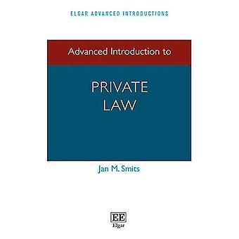 Avanzado de introducción al derecho privado (Elgar avanzada serie de presentaciones)