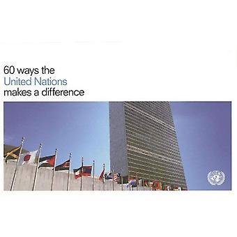 60 Ways the United Nations Makes a Difference