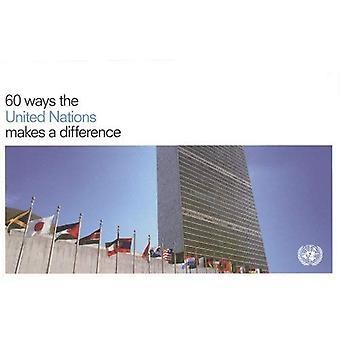 60 manieren de Verenigde Naties maakt een verschil