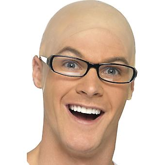 Bald Skin Head Fancy Dress Accessory
