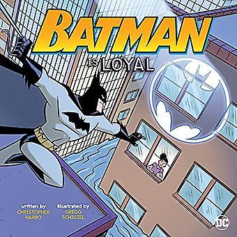 Batman ist Loyal (DC Superhelden Charakter Bildung)