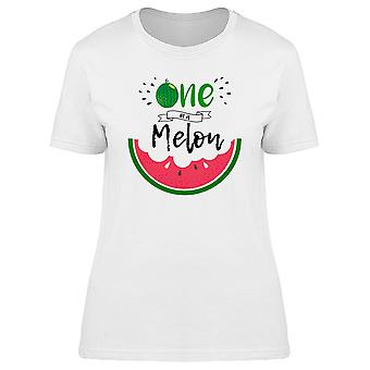 Funny One In A Melon Graphic Tee Women's -Image by Shutterstock