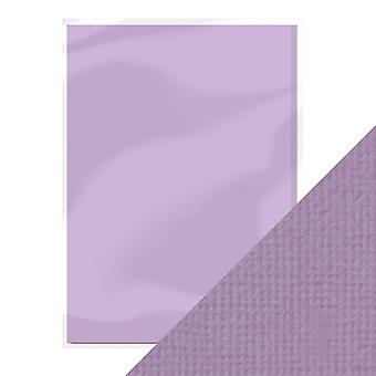 Craft Perfect A4 Weave Textured Card Mauve Purple Tonic Studios