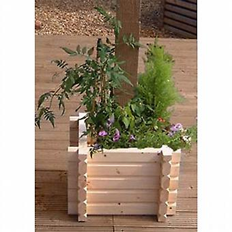 Norlog Buildround 12 x 12 Square Planter