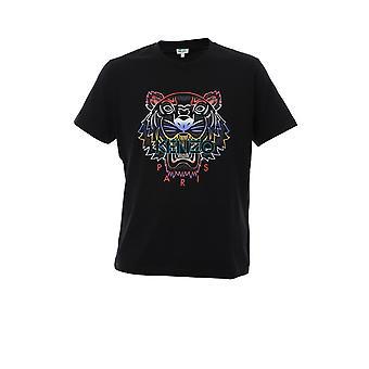 Kenzo Black Cotton T-shirt