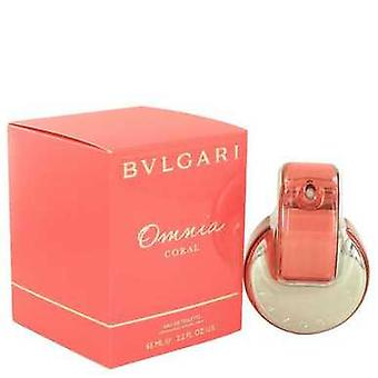 Omnia Coral By Bvlgari Eau De Toilette Spray 2.2 Oz (women) V728-498200