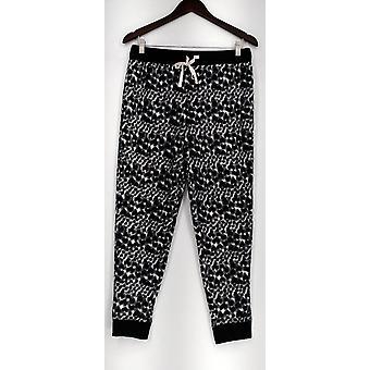 Cuddl Duds Petite Lounge Pants, Sleep Shorts PXS Stretch Fleece Black A287488