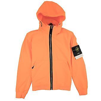 Stone Island Light Soft Shell-R Jacket Orange V0F32