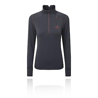 Ronhill Stride Matrix Women's 1/2 Zip T-Shirt - AW19