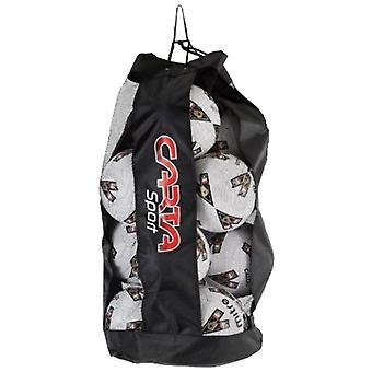 Cartasport Mesh Football Soccer 12 Ball Sack Carrier Bag