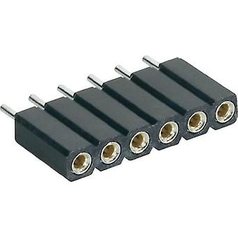 MPE Garry 115-1-036-0-MTF-XS0 Precision -socket, Straight Number of pins: 1 x 36 Nominal current (details): 3 A