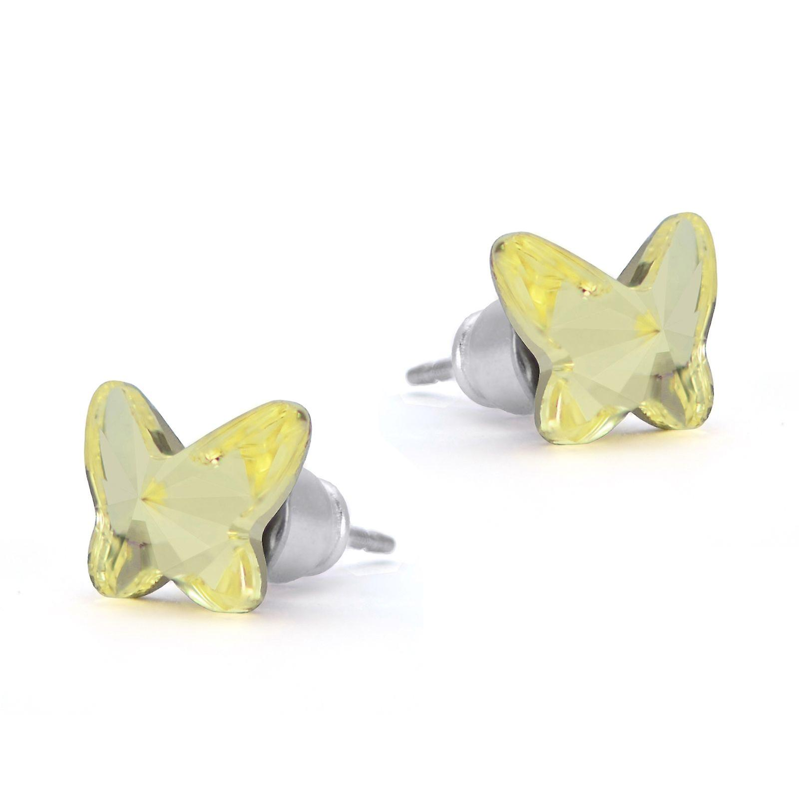 Butterfly stud earrings EMB 4.5