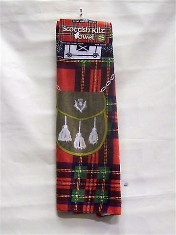 Royal Stewart Tartan Kilt Beach Towel