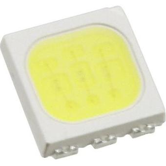 SMD LED PLCC6 Cold white 6100 mcd 120 ° 20 mA 3.25 V Everlight Opto