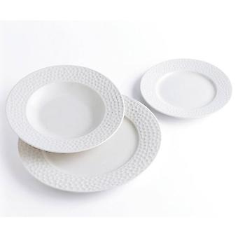 Quid Tableware 18 pieces Nacar Ivory Relief