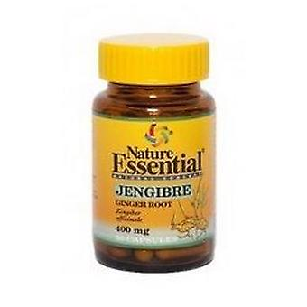 Nature Essential ginger 400 Mg. 50 capsules